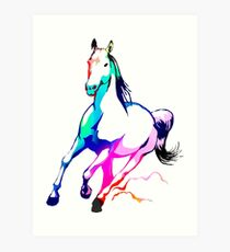 Canter Art Print