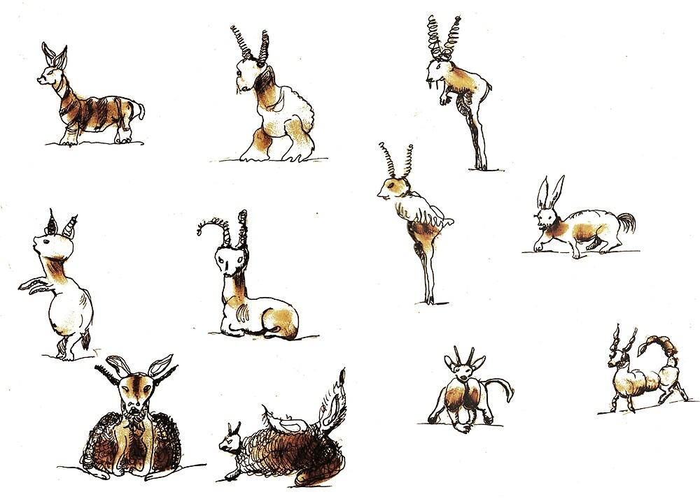 Creatures 1 by knoetski