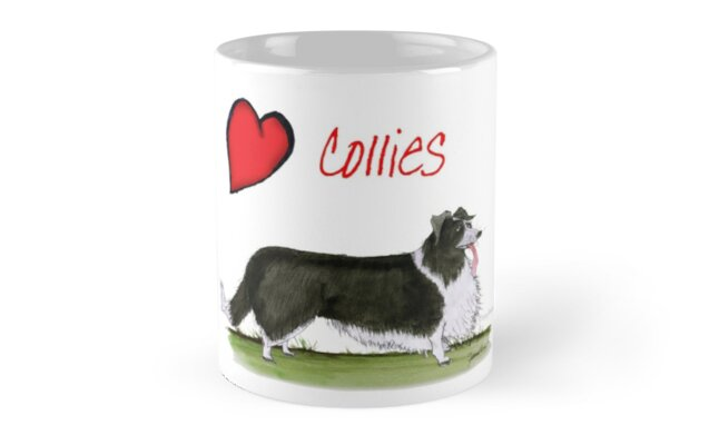 i love collies by tony fernandes by Tony Fernandes