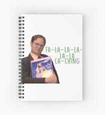 Dwight Schrute Princess Unicorn Office Spiral Notebook