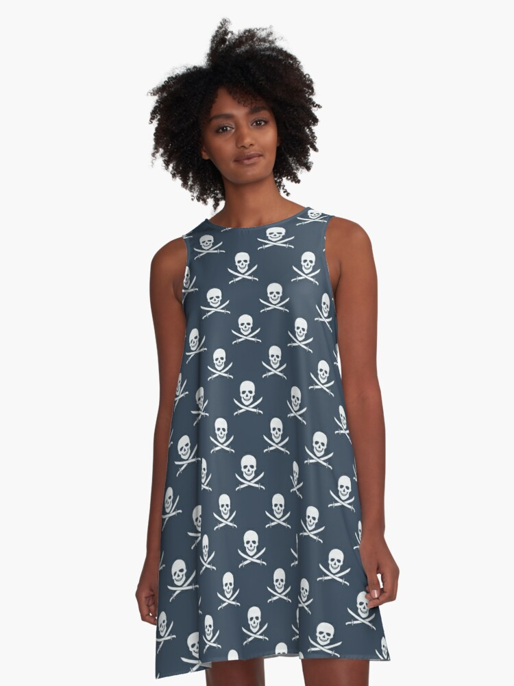 Jolly Roger A-Line Dress Front