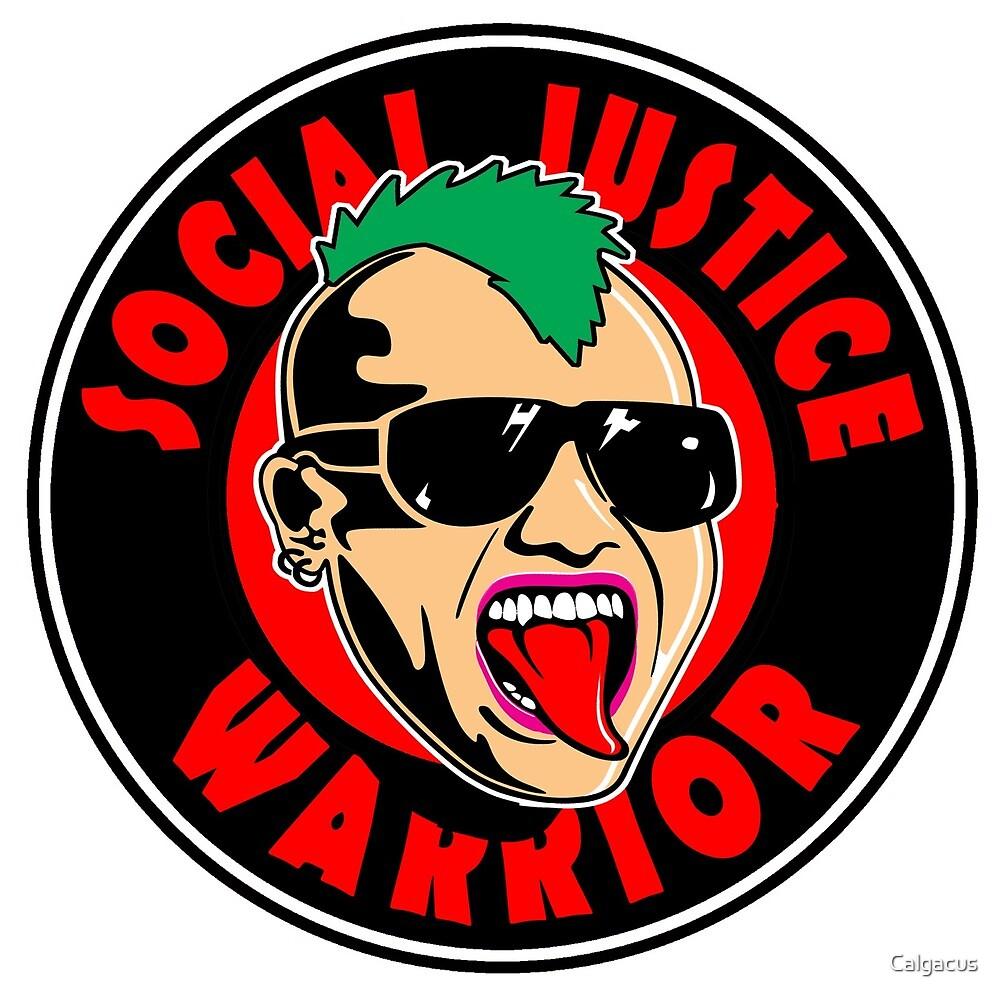 SOCIAL JUSTICE WARRIOR BADGE  by Calgacus
