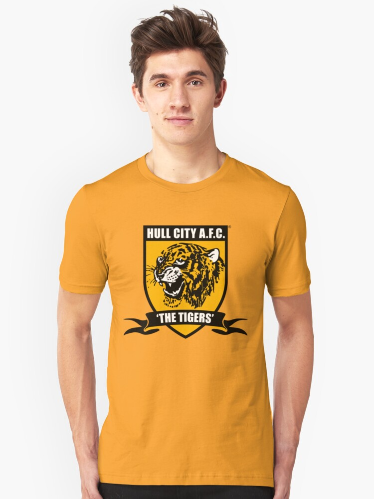 HULL CITY AFC Unisex T-Shirt Front