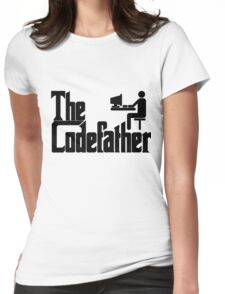 The Codefather Womens Fitted T-Shirt