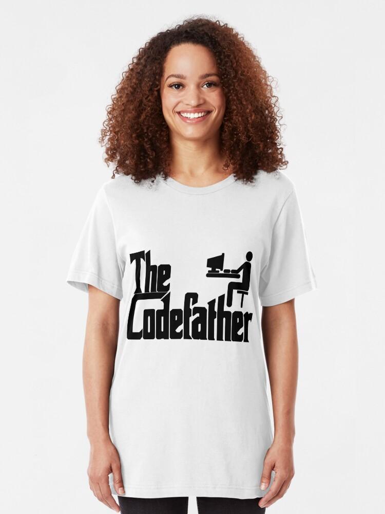 Vista alternativa de Camiseta ajustada El padrino
