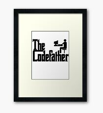 The Codefather Framed Print
