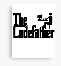 The Codefather Canvas Print
