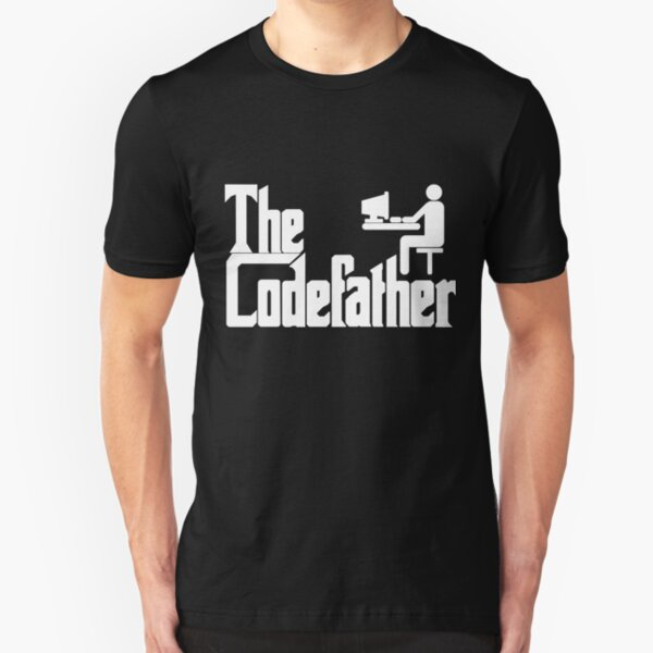 The Codefather Slim Fit T-Shirt