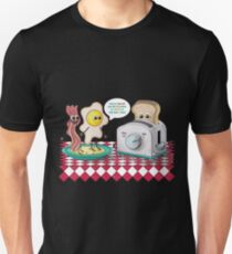 TOAST to the New Year!  Unisex T-Shirt