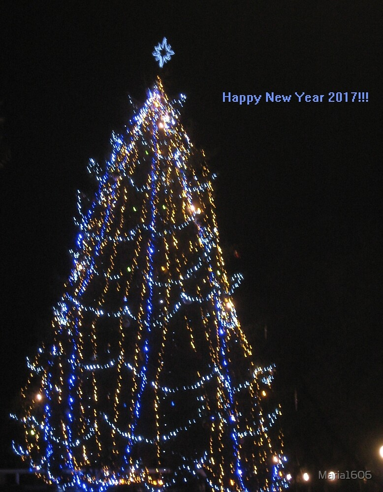 Happy New Year 2017 by Maria1606