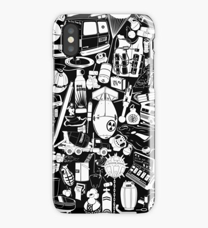 Things that go... BOOM!!! -white- iPhone Case/Skin