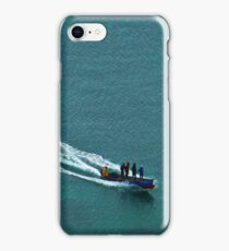 Off to work - Windjammer Bay, Saint Lucia iPhone Case/Skin