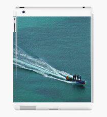 Off to work - Windjammer Bay, Saint Lucia iPad Case/Skin