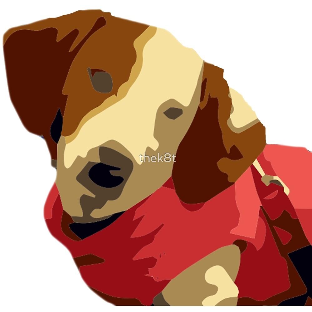 Dachshund Puppy Tones by thek8t