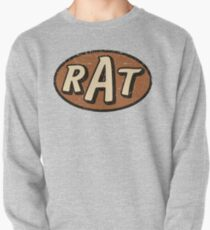 RAT - weathered/distressed Pullover