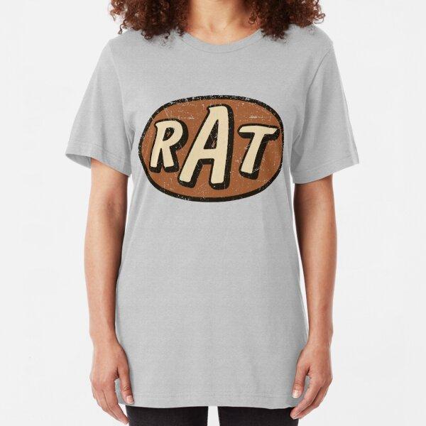 RAT - weathered/distressed Slim Fit T-Shirt