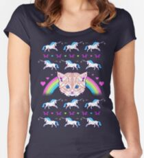 Most Meowgical Sweater Women's Fitted Scoop T-Shirt