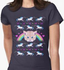 Most Meowgical Sweater Women's Fitted T-Shirt