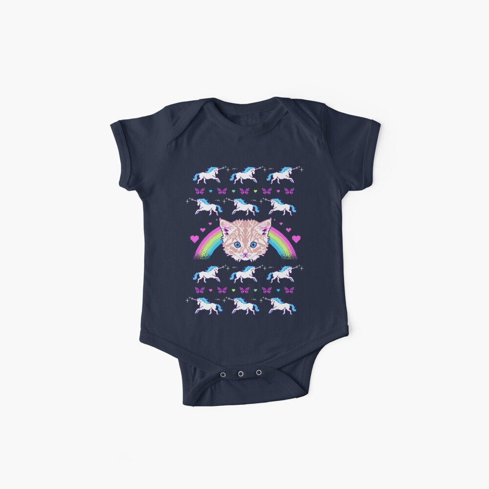 Most Meowgical Sweater Baby One-Piece