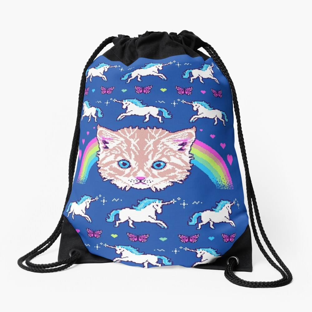 Most Meowgical Sweater Drawstring Bag
