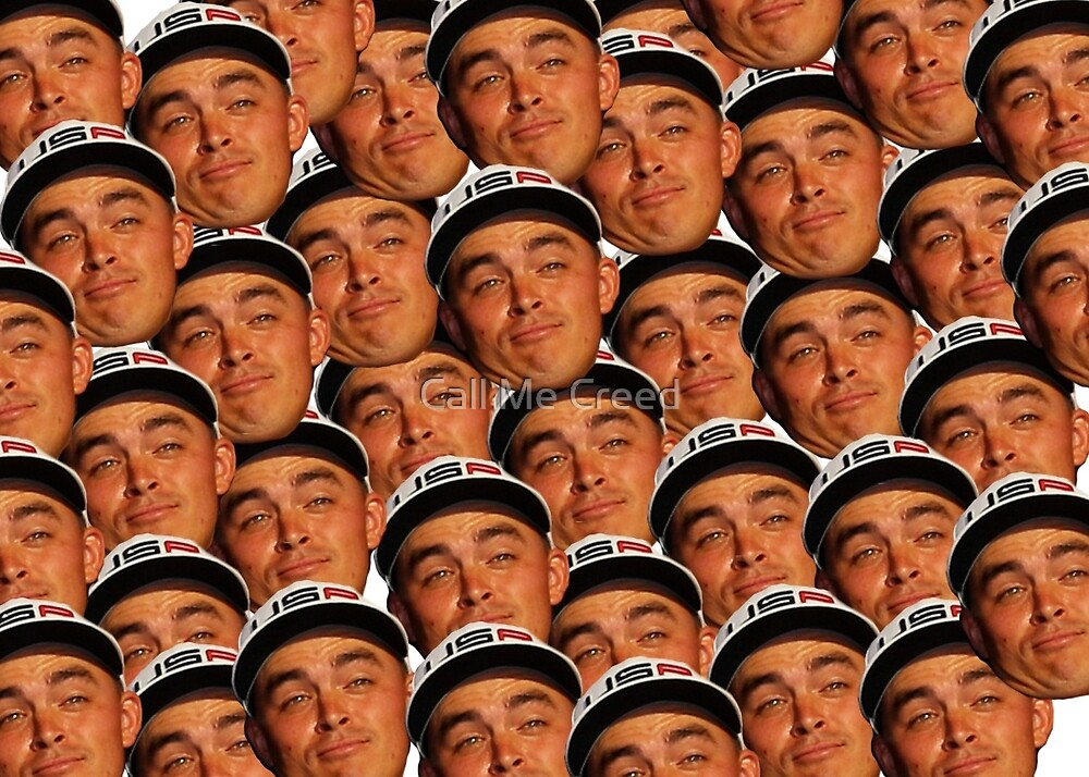 Rickie Fowler Ryder Cup Face No One to Kiss by Call Me Creed