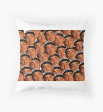 Rickie Fowler Ryder Cup Face No One to Kiss Throw Pillow