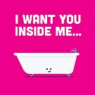 Character Building - Valentines - Bathtub - Inside Me by SevenHundred