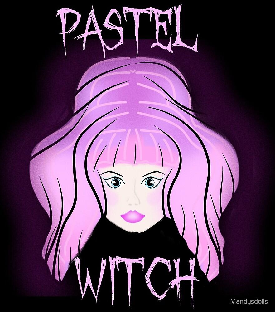 Pastel Witch Doll by Mandysdolls