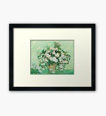 Vincent Van Gogh - Roses 1890 Framed Print