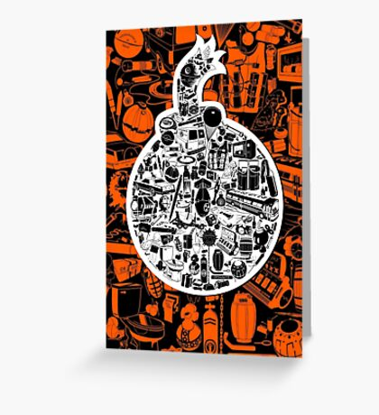 Things that go BOOM! Greeting Card