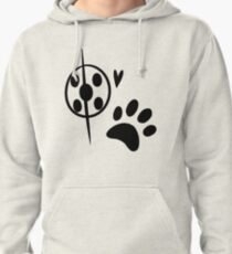 Miraculous Ladybug Chat Noir and Ladybug Signatures Pullover Hoodie