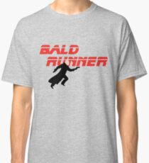 Bald Runner Humour Funny Blade Runner Comic Joke Classic T-Shirt
