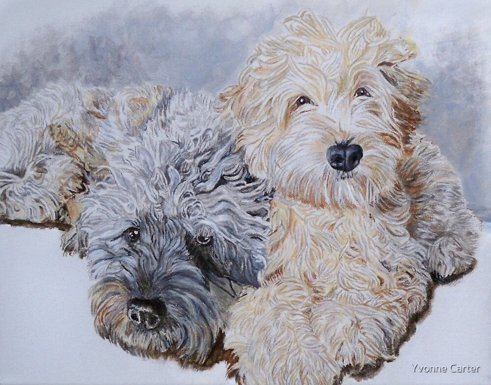 Doodles Two by Yvonne Carter