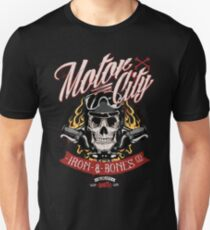 Motor City - Iron bones  T-Shirt