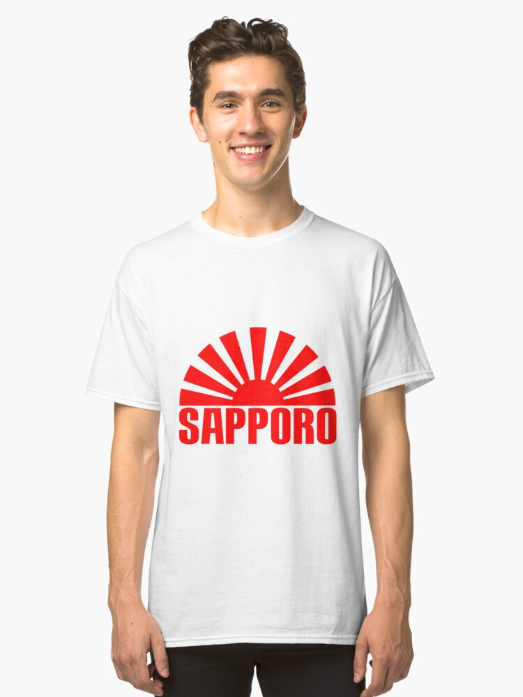 SAPPORO Classic T-Shirt Front