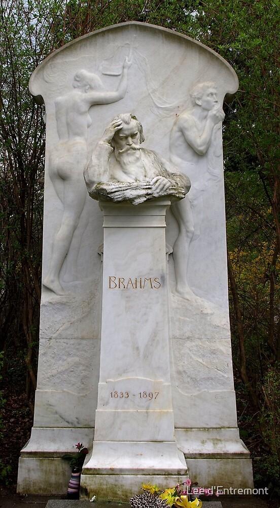 Johannes Brahms by Lee d'Entremont