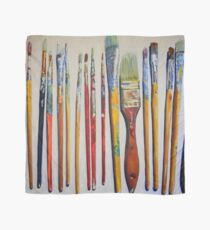 Riccoboni Artist Paint Brushes Scarf
