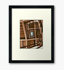 Looking Up! Framed Print