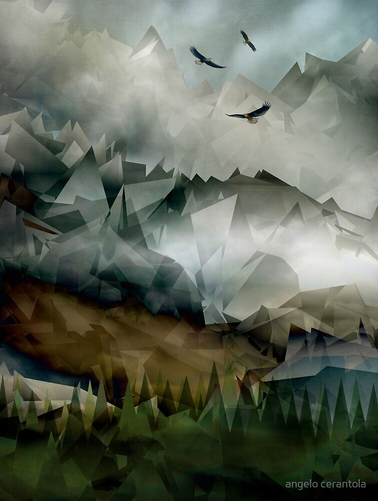 Eagles Mountains by angelo cerantola