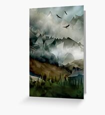 Eagles Mountains Greeting Card