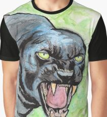 Mad Black Panther T-shirt graphique
