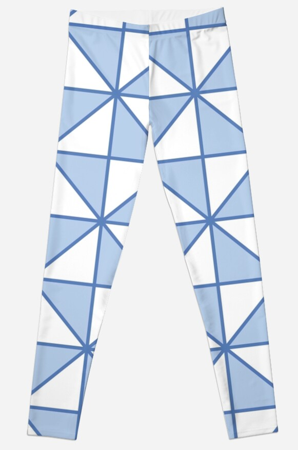 Modern,trendy,triangles,pattern,blue,pale blue,white,gemotric,contemporary pattern by love999