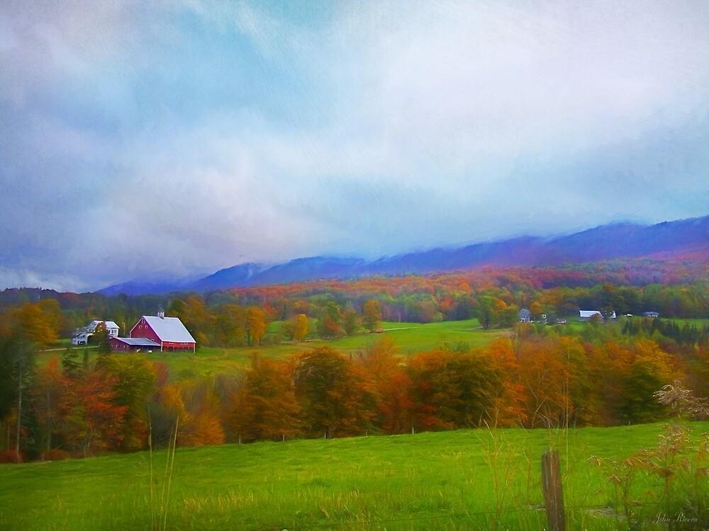 Rochester Vermont Farm by John Rivera