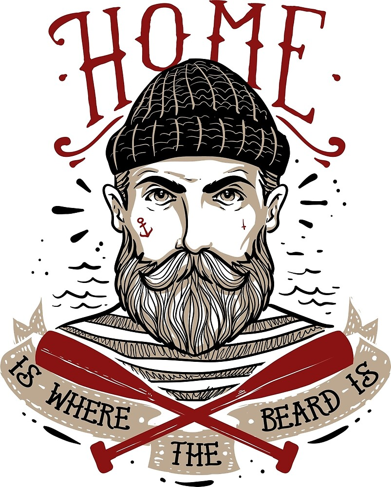 Home is Where the Beard is by CorvusAttic