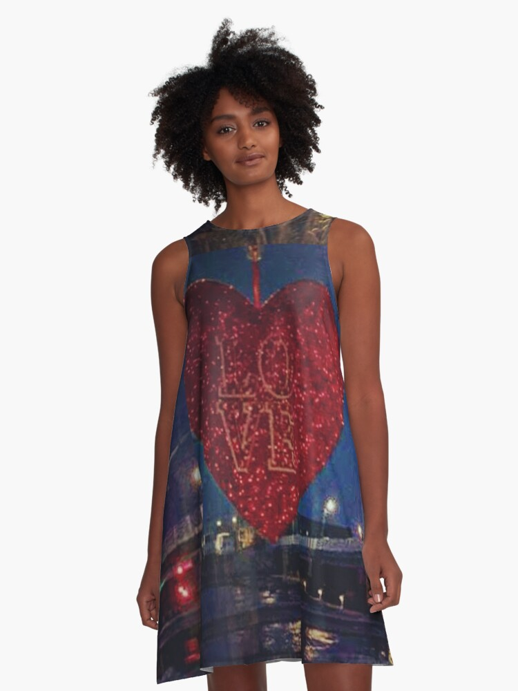 All You Need Is Love A-Line Dress Front