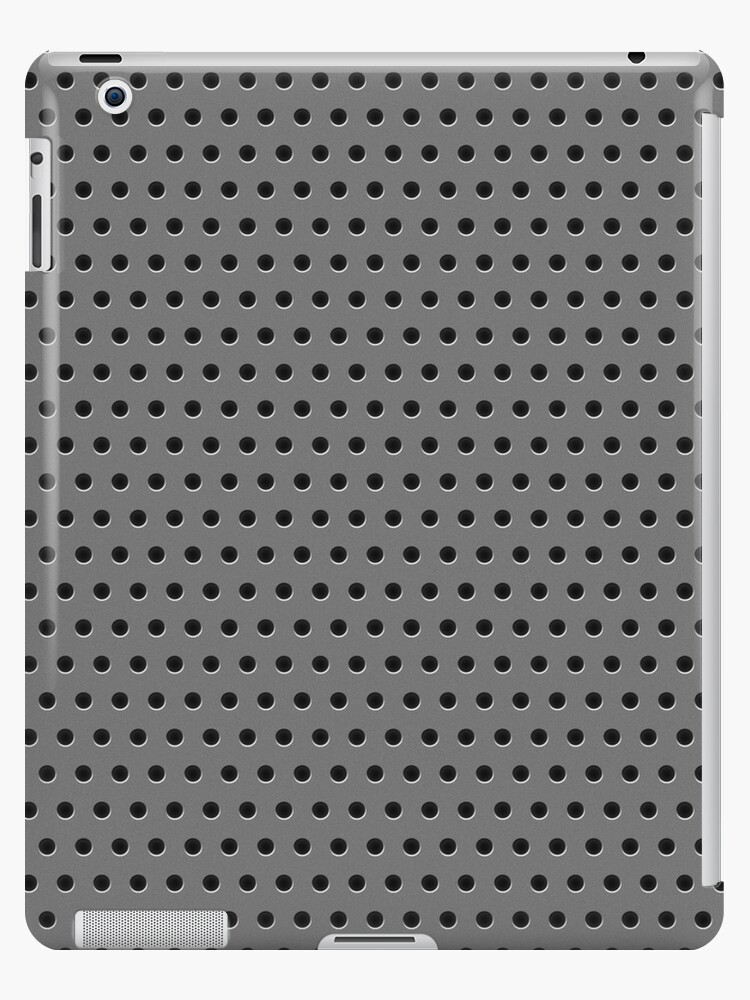 Industrial Silver Grate by Phil Perkins