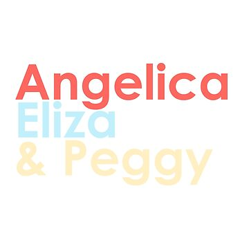 angelica eliza and peggy by claudiolemos