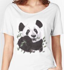 Hungry Panda T-shirts coupe relax