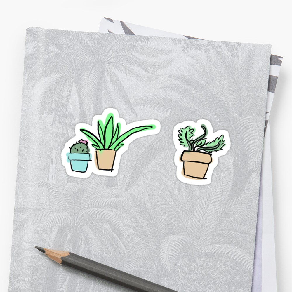 Plant Doodle by SkipThisVoid