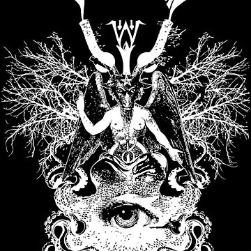 Electric Wizard - Baphomet (White) by lnfernum